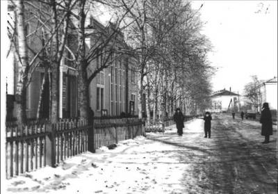 Библиотека 1950-х гг.