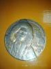Электронная коллекция «Георгий Ушаков» :: Памятная медаль «Полярный исследователь Г. А. Ушаков (1901-1963)